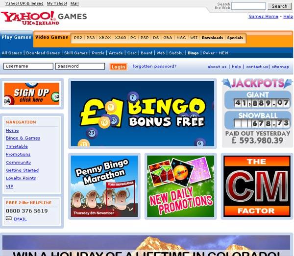 yahoo free bingo games online play bingo fundsnet